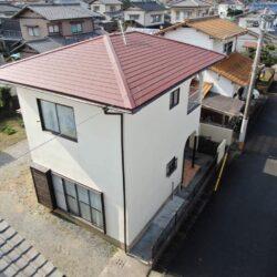 糸島市 S様邸 屋根葺替・外壁塗装