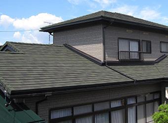 高品質 石付き金属屋根プラン